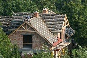 самостоятельное возведение крыши дома