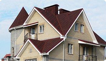 многощипцовая сложная крыша