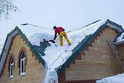 Фирмы по уборке снега с крыши