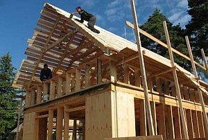 Двускатная крыша: пошаговое строительство своими руками