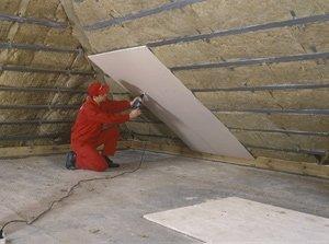 Как правильно утеплить мансардную крышу