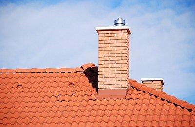 проход дымоходной трубы через крышу