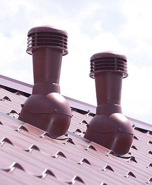 вентиляция на крыше из металлочерепицы
