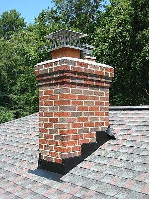 Как заделать дымоход из кирпича на крыше замена дымохода в камине