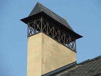 Отделка дымохода на крыше