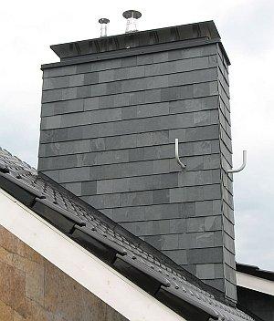 Отделка дымохода клинкерной плиткой дымоход верхний элемент