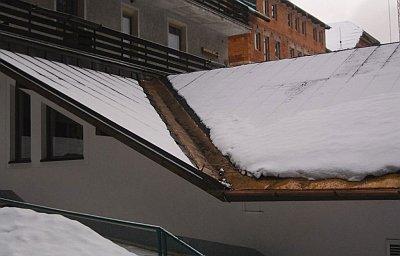 обігрів ендови даху