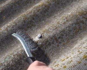 Ремонт шиферной крыши своими руками