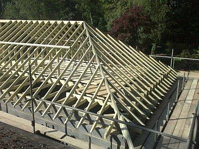 вальмовой крыши фото