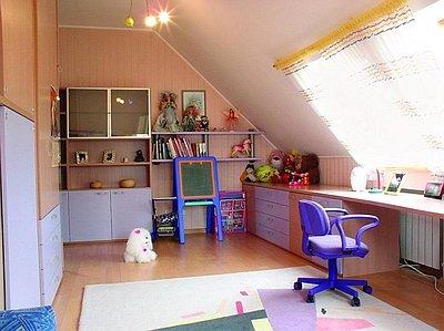 Комната на чердаке своими руками: отделка, как оборудовать и сделать